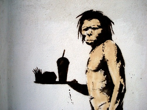Banksy's caveman | by Lord Jim