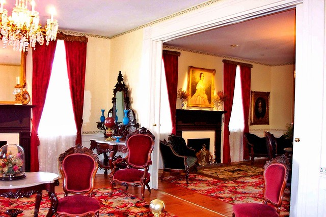 First White House of the Confederacy ~ Montgomery ~ Alabama ~ Living Rooms