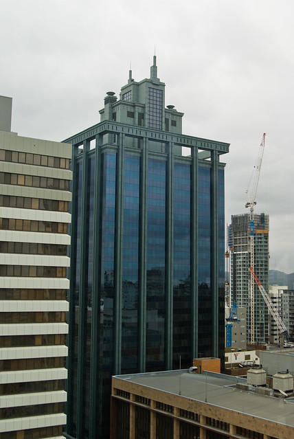 View from City Hall Clock Tower, Brisbane - Batman Building