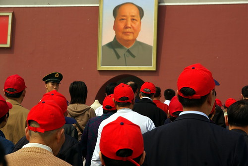 Mao and red caps | by Cedric Sam