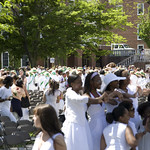 Ivy Day Ceremony breaks up