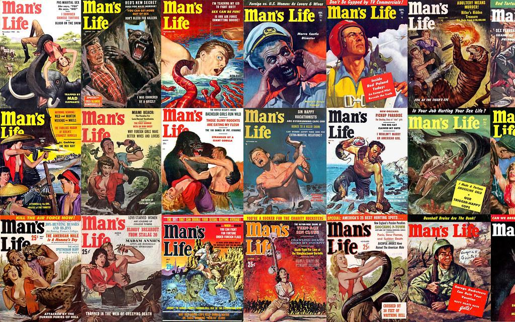 Mans Life Covers Desktop Wallpaper A Desktop Wallpaper Of