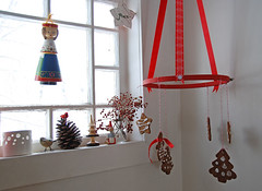 gingerbread mobile   by SouleMama