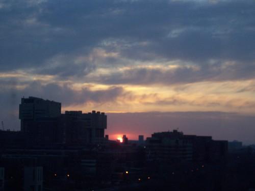 Dawn in Minneapolis
