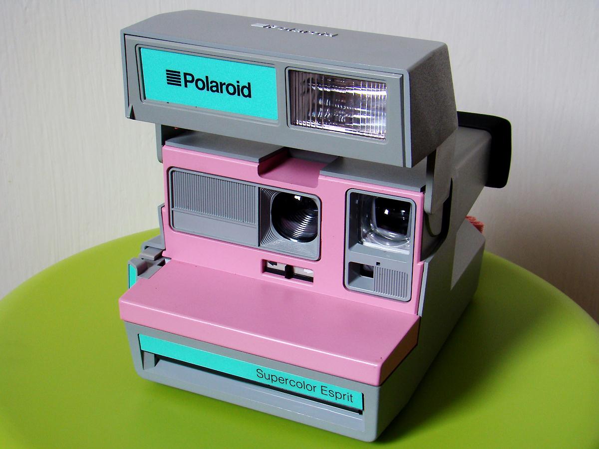 Polaroid SuperColor Esprit Grey Pink - II - a photo on