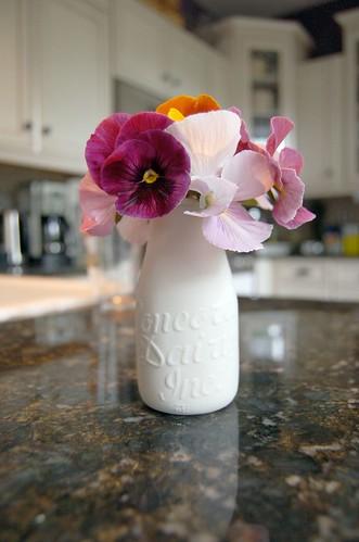 Alyssa Ettinger Milk Bottle Vase   by ilovebutter