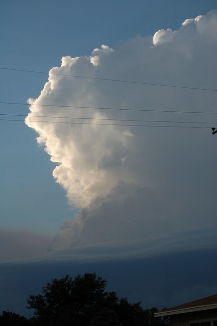 090607 - Strong September Nebraska Thunderstorm6, 2007 - Tornadic Supercell -  Kearney Nebraska