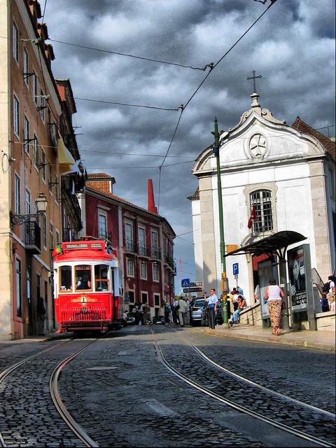 Alfama Tram, Lisbon