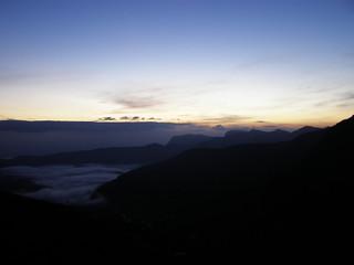 Hunnasgiriya Sunrise , Sri Lanka