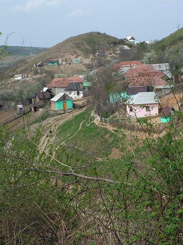 Malebná vesnička na rumunský způsob