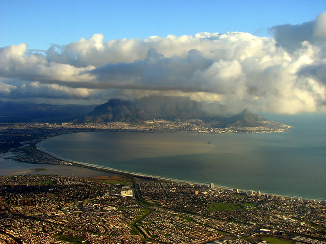 A shot of happiness seeing the Mother City again: Cape Town and Table mountain ... by Joanne/CapeTownFIFAWORLDCUP2010