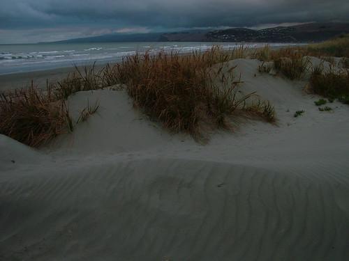 Plaz pred bouri