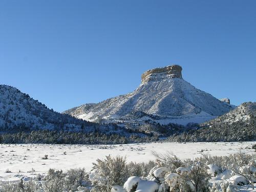 snow southwest scenery colorado view plateau roadtrip mesaverde trips mesa 01082008