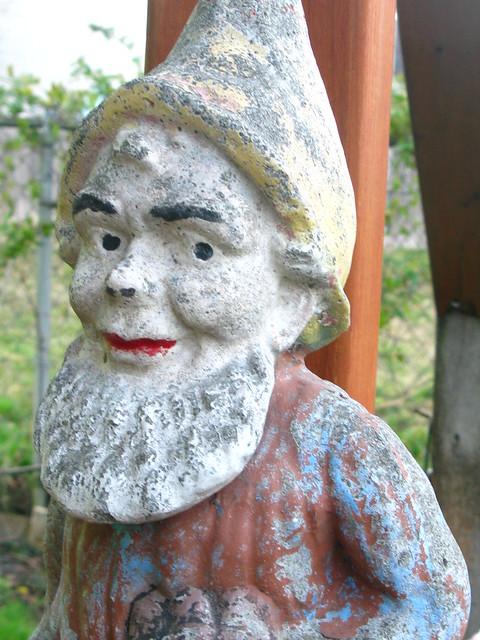 Skeptical Garden Gnome