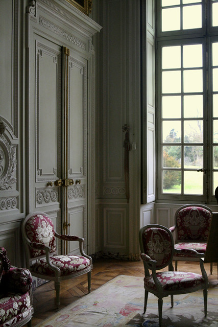 Le Petit Trianon Versailles France Interior Of Marie