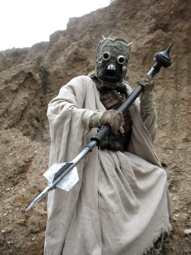 My Tusken Raider costume | by Chris F. Bartlett