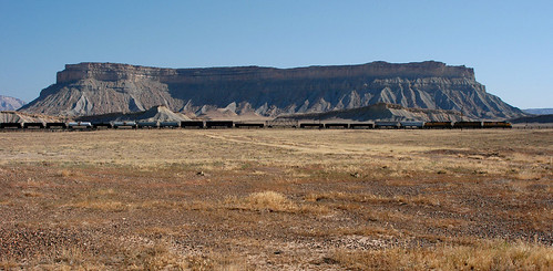 railroad train geotagged utah greenriver unionpacific mesa i70 eastbound freighttrain interstate70 frontageroad floy hatchmesa exit173