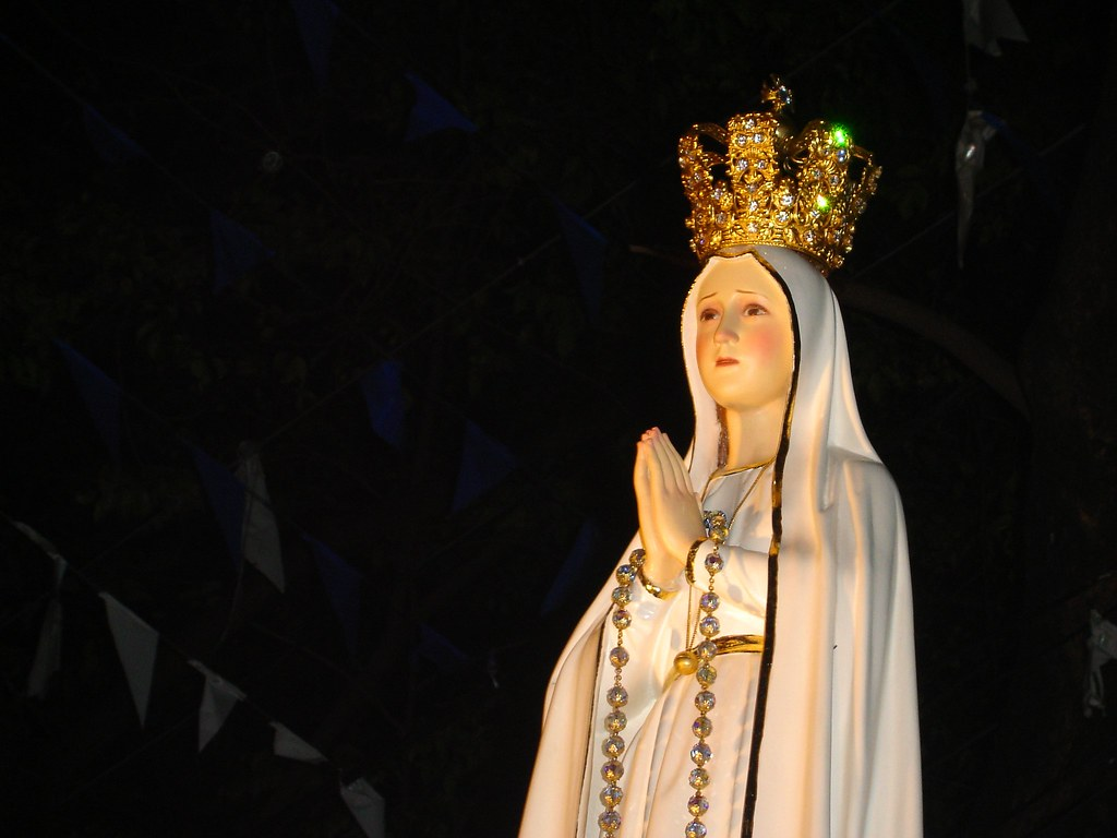 Our Lady Of Fatima National Pilgrim Image Feast Of T Flickr