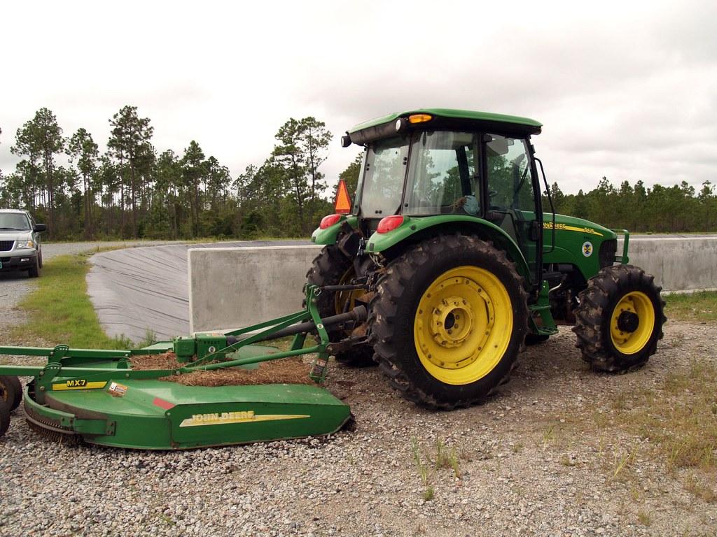 Tractor/Bush Hog for Field Maintenance | Steve | Flickr