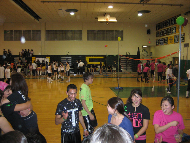 Scenes from the marathon | The shot of Montville High School