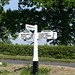 Fingerpost & roadside features, England