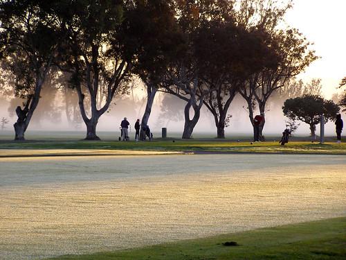 california mist fog sunrise golf photo frost golfcourse alameda golfers ourdailytopic
