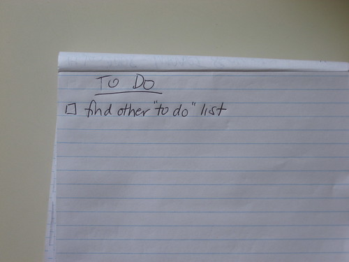 To Do List | by Beth77