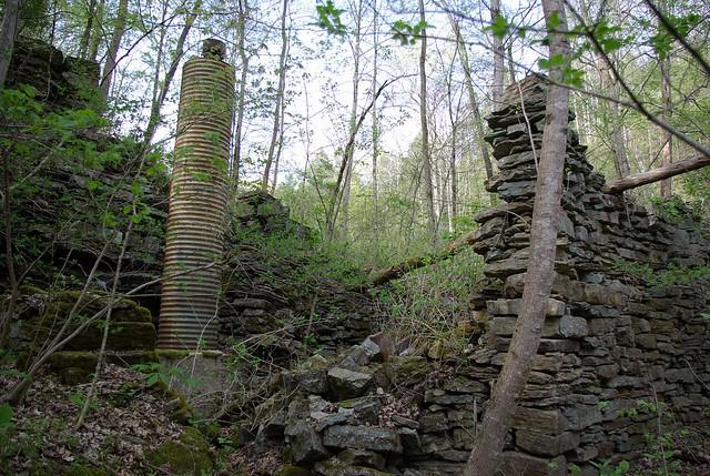 Grist Mill at Flat Creek Falls, Overton Co, TN