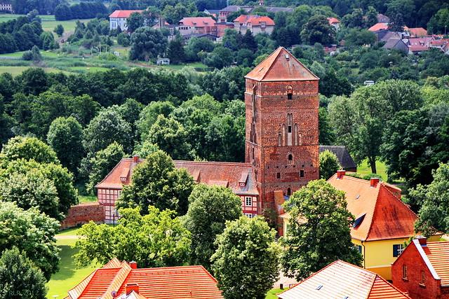 Wittstock, Burgblick