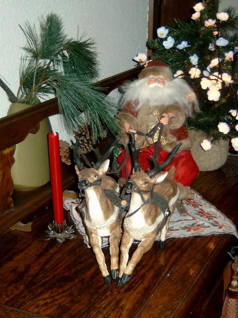Weihnachtsbilder Nikolaus.Nikolaus Mit Rentieren Santa Claus With Reindeers Flickr