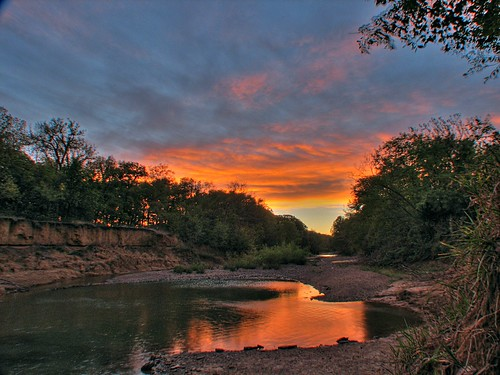 sunrise canon river lawrence ks kansas s2is hdr wakarusa
