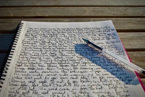 Writing, Wednesday 13 February 2008 . 3575 | by tonyhall