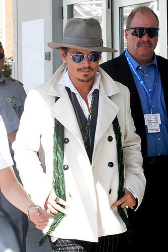 7c9609b13 Johnny Depp Hat | Dapper Depp Johnny Depp hits Italy at the … | Flickr