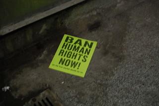 Ban Human Rights Now! | by driusan