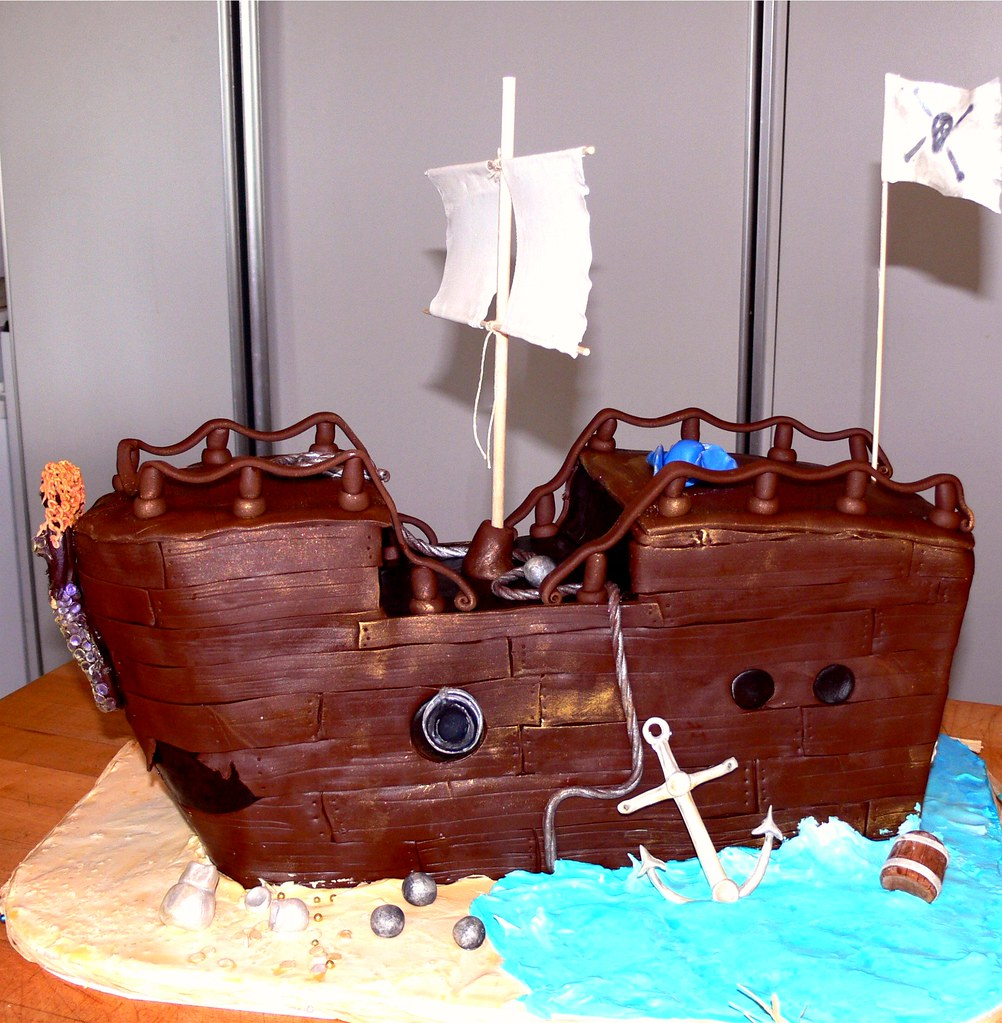 large pirate ship