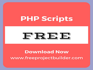 Free php scripts to Download