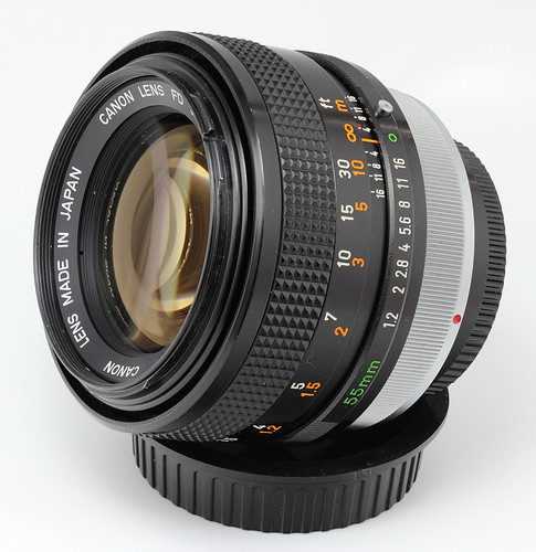Canon FD 55mm f/1.2 S.S.C. Aspherical Lens (radioactive) | by s58y