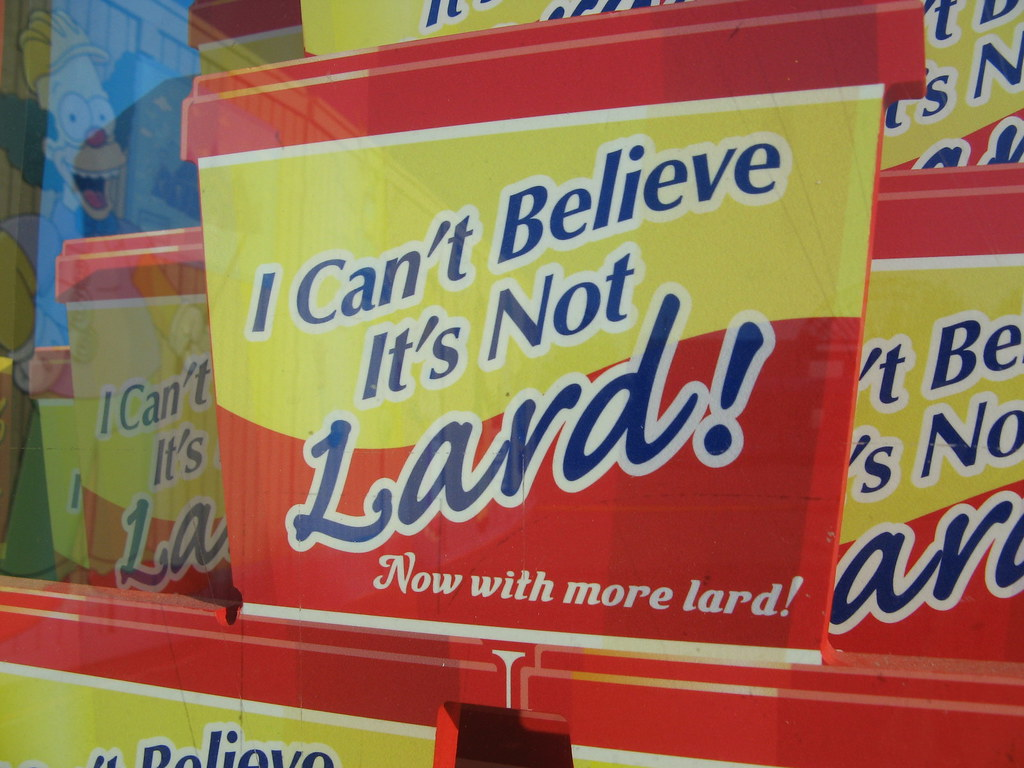 I Can39t Believe It39s Not Lard  Now with more lard  rmadlo119  Flickr
