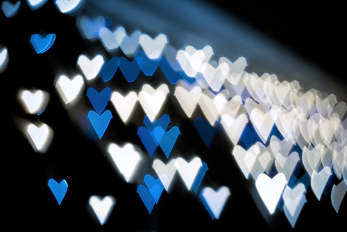 jagged blue hearts | by George Deputee