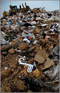 Trash - Larimer County Landfill   by Jason Kosena