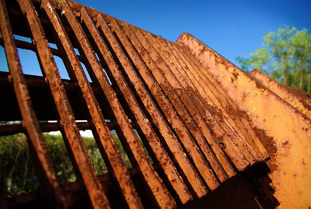 Experimental, Rusty Bulldozer Scoop, Cookeville, TN