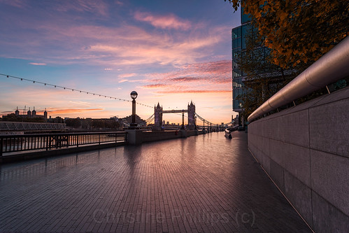 towerbridge autumn fall thefall sunrise sunset magicalmoments london uk england travel explore wishiwerethere happiness christinephillips christinesobservations bridge architecture art city photography urban people color photographer looking up vertical street building blue colors colours colour europe beautiful cityscape structure ultra wide angle contemporary arts architectural residential design abstract buildings shad thames central londyn londres londra capital britain great outdoor christine phillips
