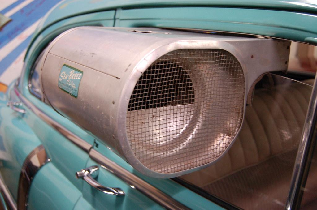Car Air Conditioner: Sea Breeze Car Window Air Conditioner R E Olds Museum 2-9