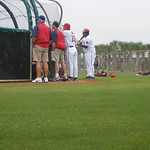 Dmitri Young watches BP