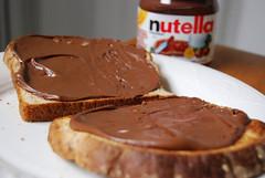nutella for breakfast   by love.jsc