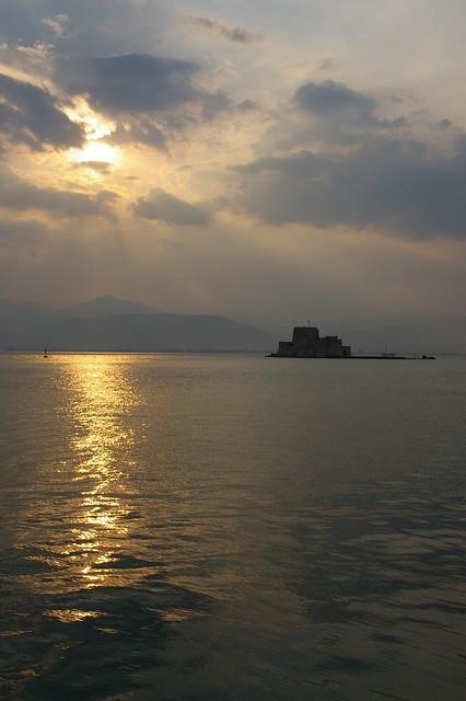 Illa fortificada davant Nafplio