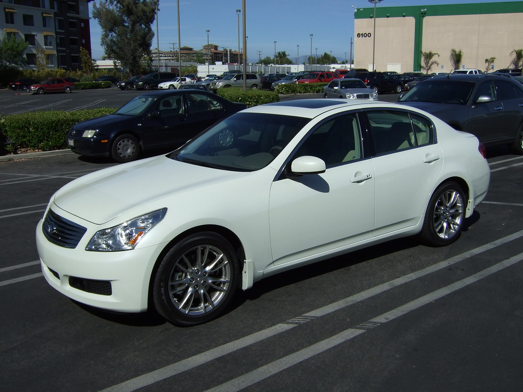 2007 Infiniti G35 Sedan >> 2007 Infiniti G35 Sedan 2007 Infiniti G35 Sedan In Pearl W