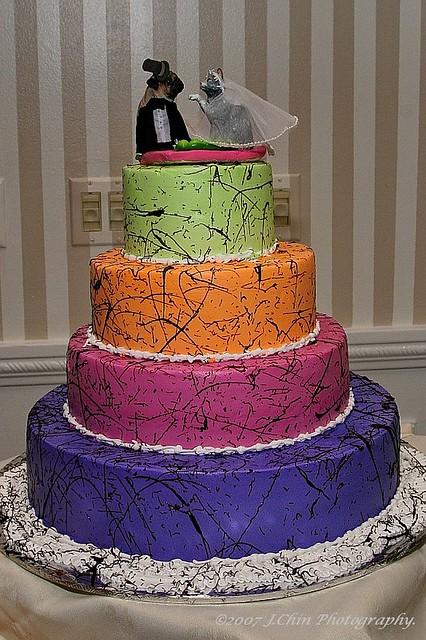 Chris & Maria's wedding cake