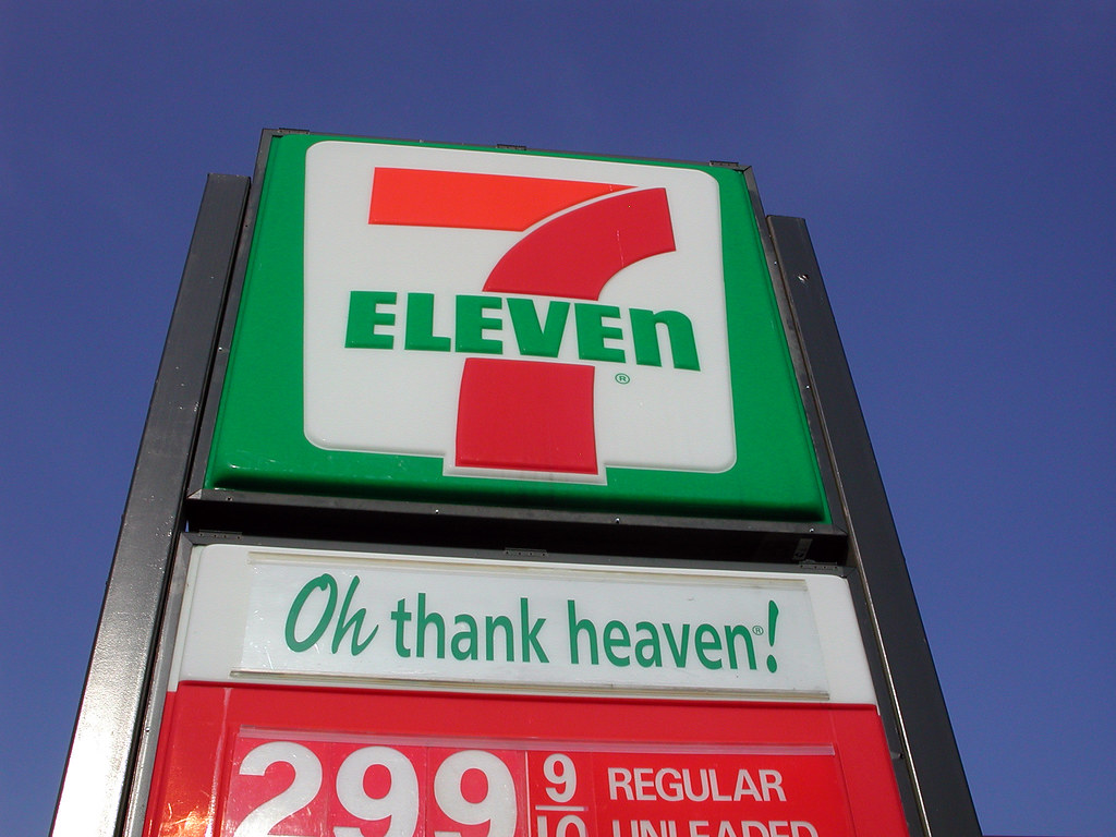 7-11, OH thank heaven!