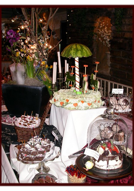 chamber winter party pastry table 2006